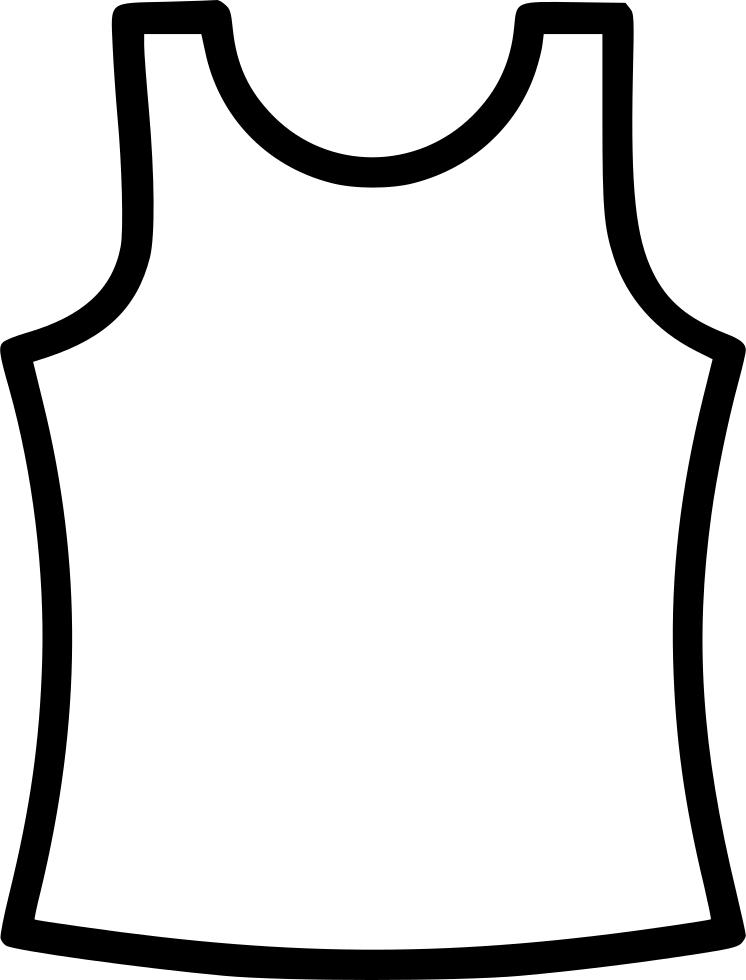 Cloth Under Shirt Vest Men Svg Png Icon Free Download.