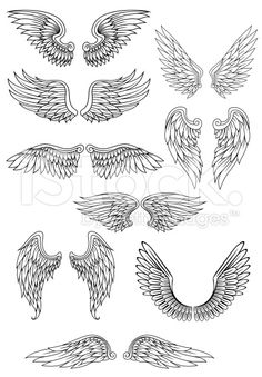 Marketplace Tattoo Cross with Wings #14700.