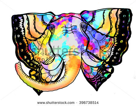 Elephant With Wings Stock Photos, Royalty.