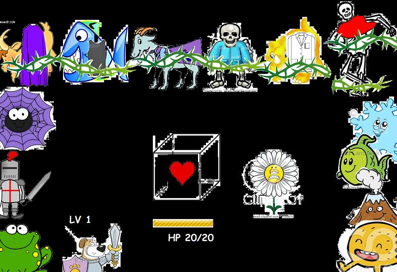 Undertale clipart 2 » Clipart Portal.