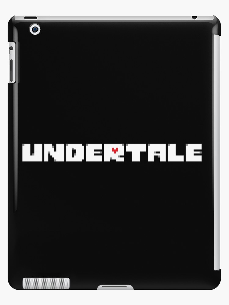 \'Undertale: Logo\' iPad Case/Skin by Spoons McGee.
