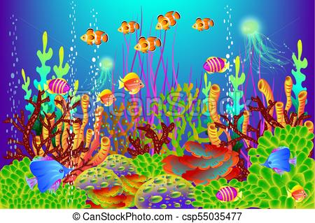 Underwater background clipart 3 » Clipart Station.