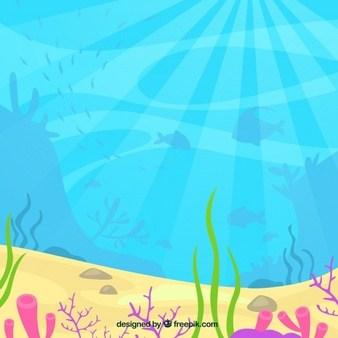 Underwater clipart background 2 » Clipart Portal.