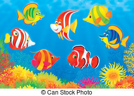 Tropical fishes Stock Illustrations. 14,690 Tropical fishes clip.