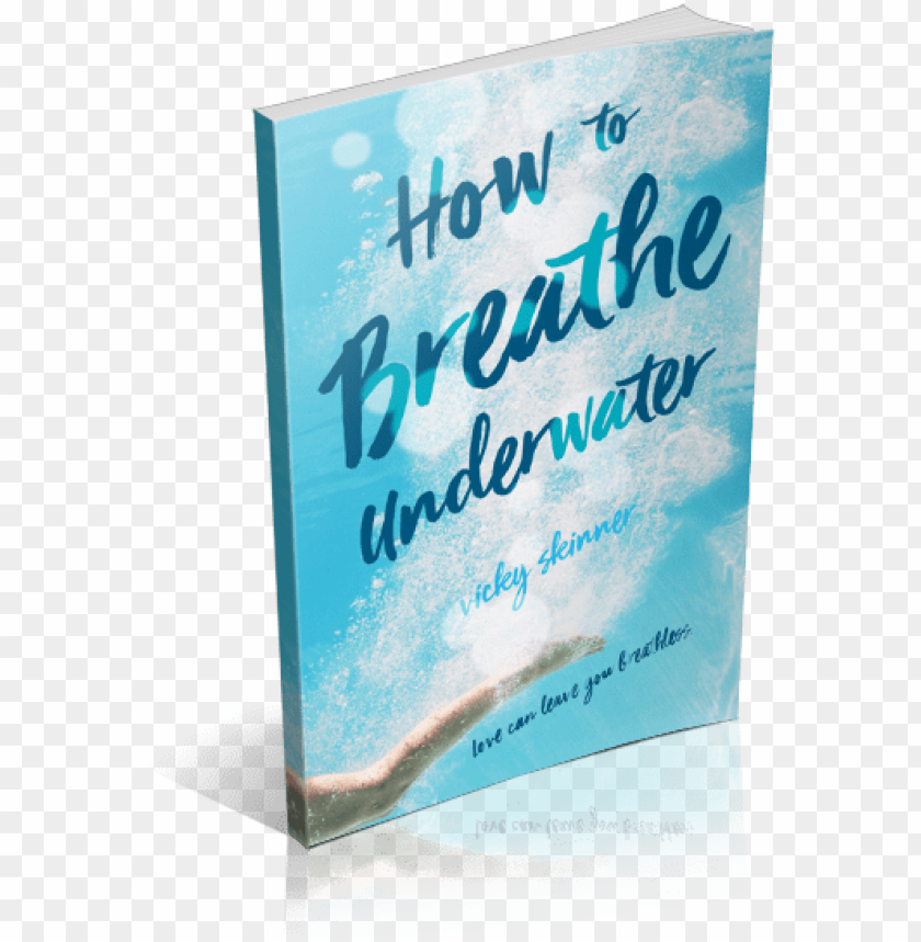 breathe underwater book book PNG image with transparent.