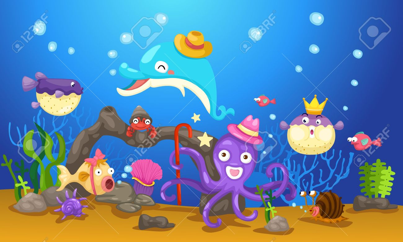 3,324 Underwater World Stock Illustrations, Cliparts And Royalty.