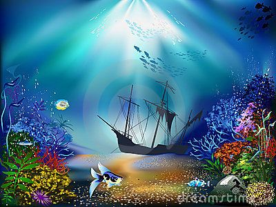 Underwater World Clipart.