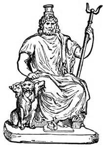 Hades God Of The Underworld Clipart.