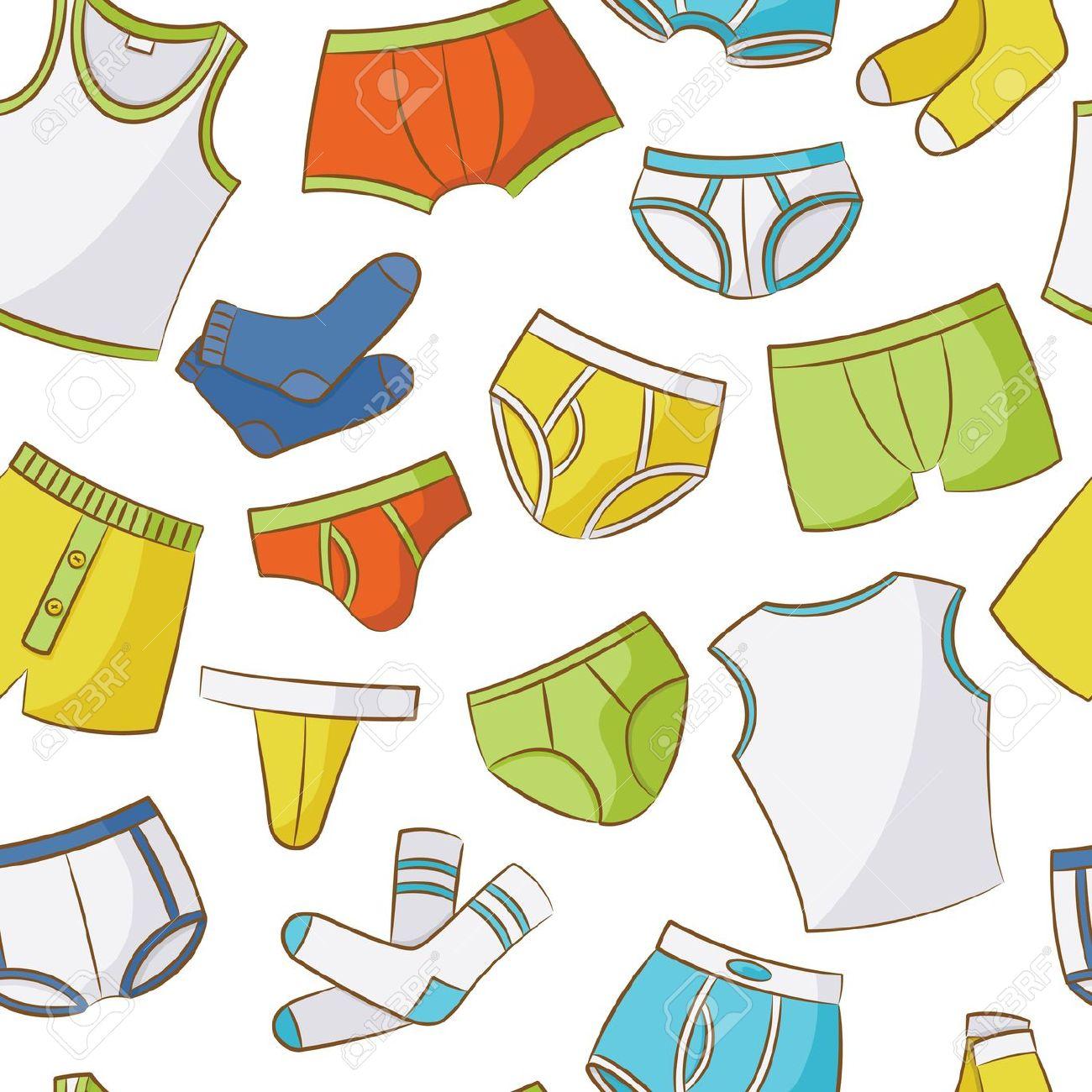 Dirty underwear clipart.
