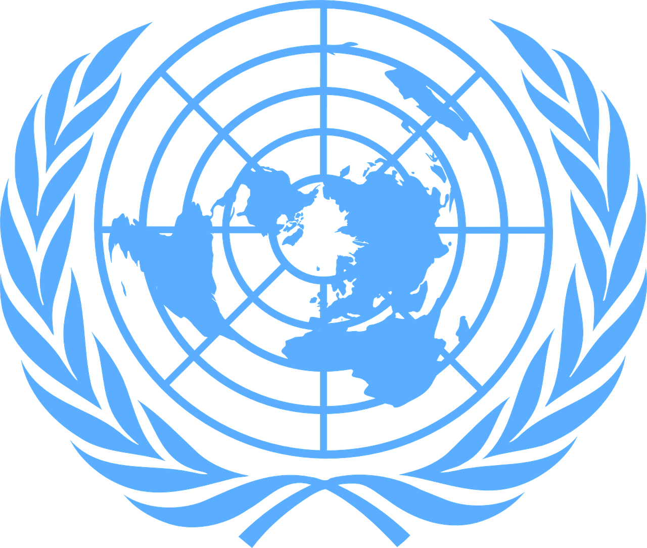 United Nations PNG logo free download, UN logo PNG.