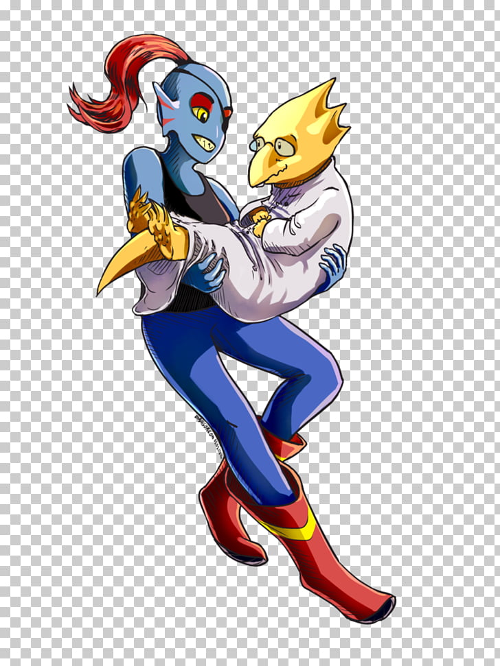 Undyne Alphys Undertale, others PNG clipart.