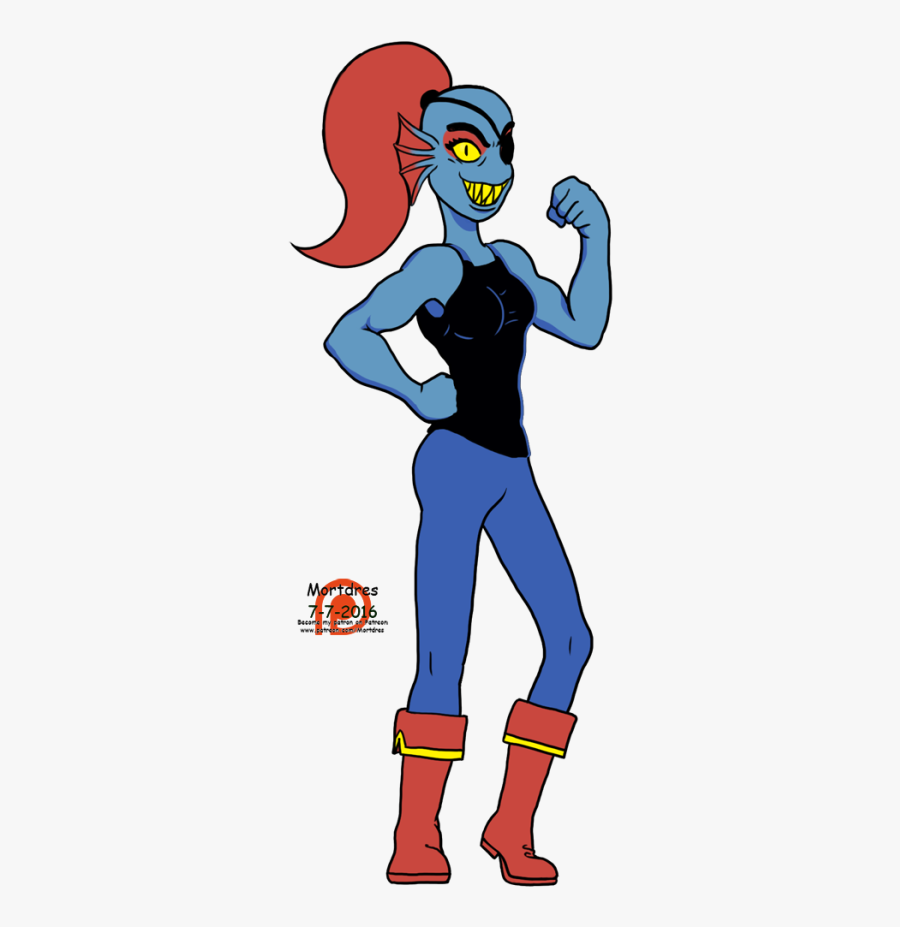 Undertale Characters Undyne Png , Free Transparent Clipart.