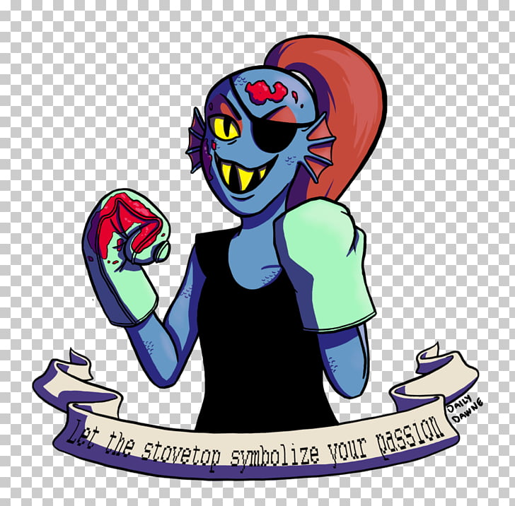 Undertale Mudkip Character, Undyne PNG clipart.
