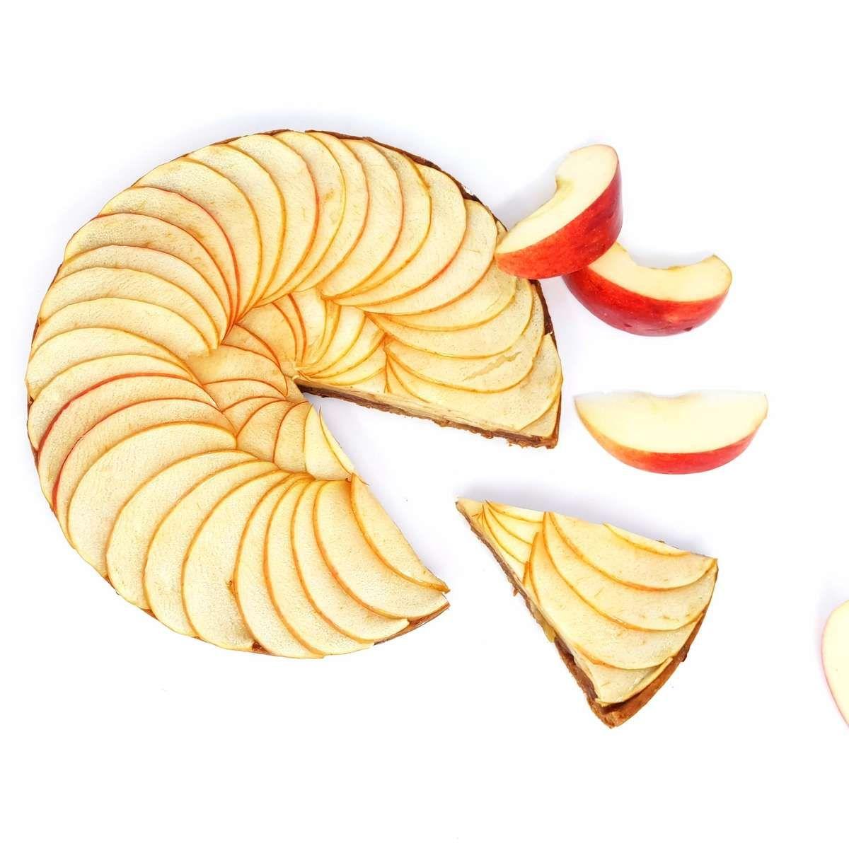 Recette de la tarte aux pommes.