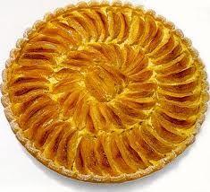 Recettes illustrée tarte aux pommes.