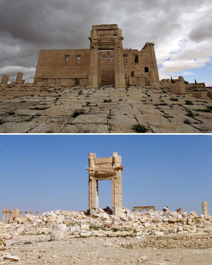 After Palmyra, the message to Isis: what you destroy, we will.