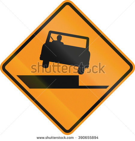 Free clipart road signs uneven steps.