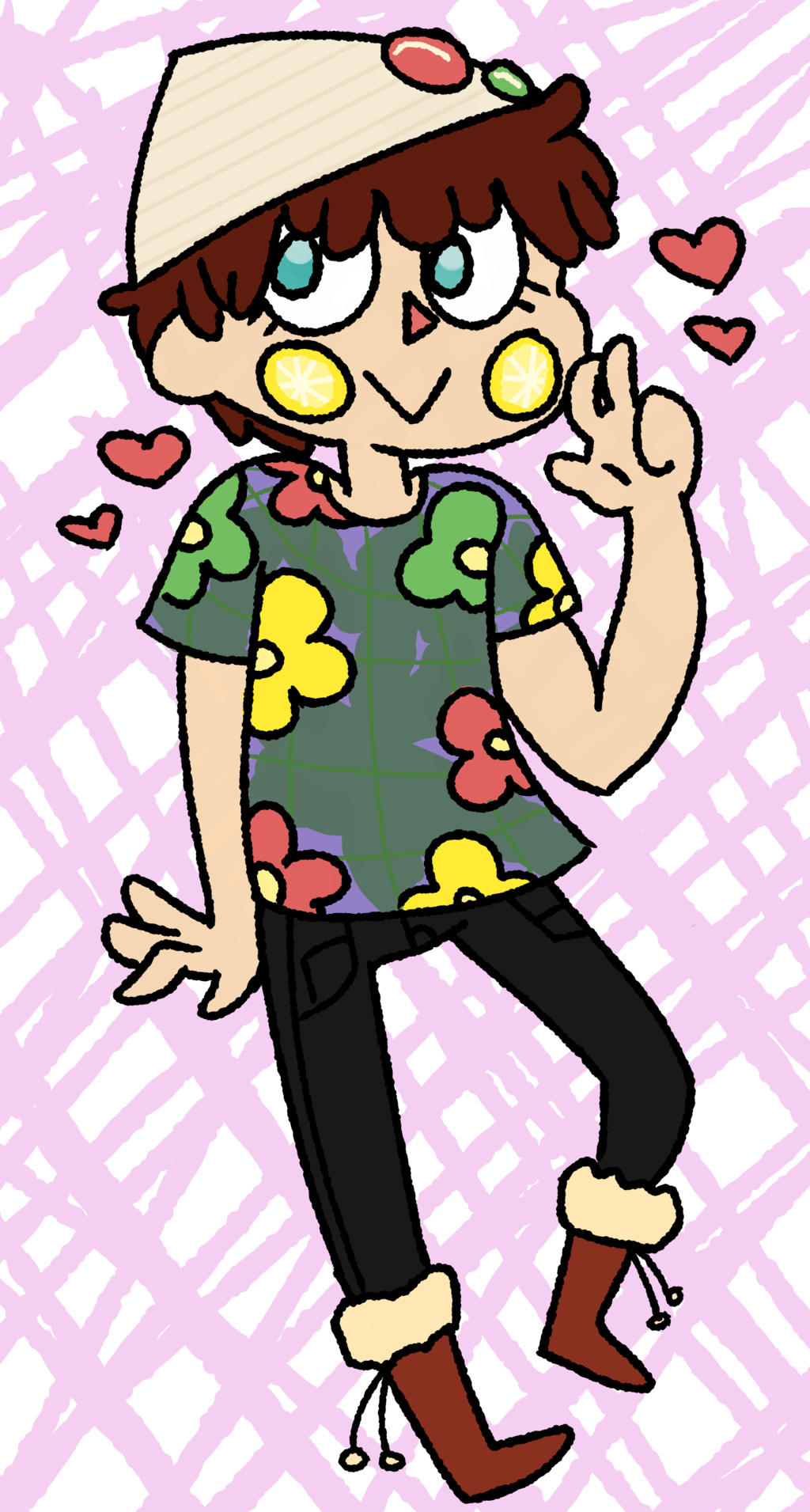 my unfashionable acnl character by ANABI0SIS on DeviantArt.