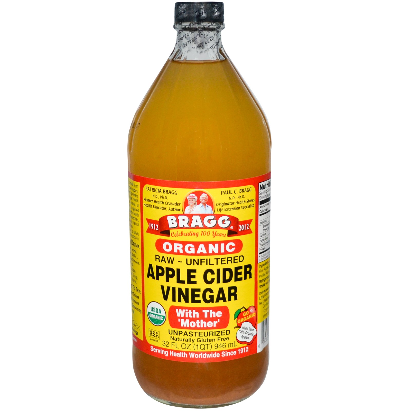 Braggs apple cider vinegar clipart.