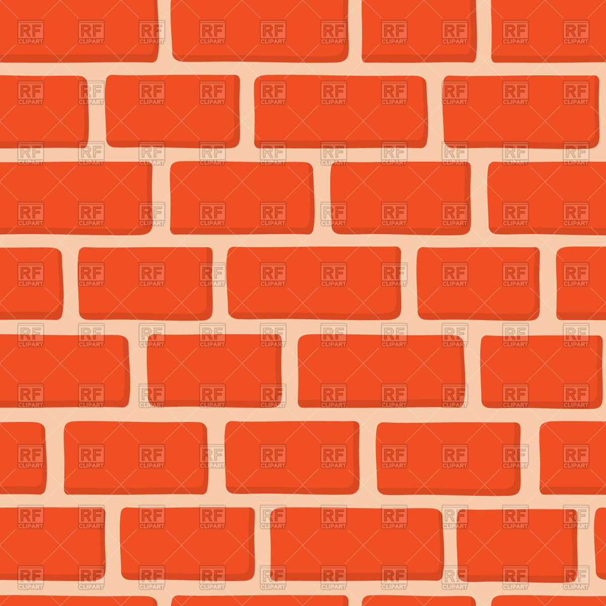 549 Brick Wall free clipart.
