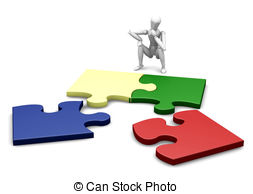 Unfinished puzzle Illustrations and Clip Art. 372 Unfinished.