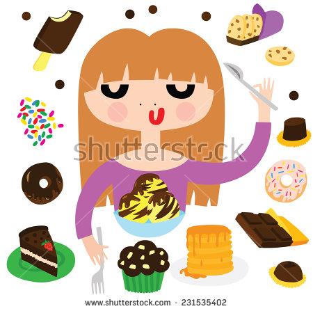 Woman Eating Donut Stock Photos, Royalty.