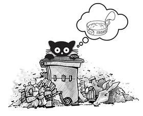 Unfit for human consumption clipart #17