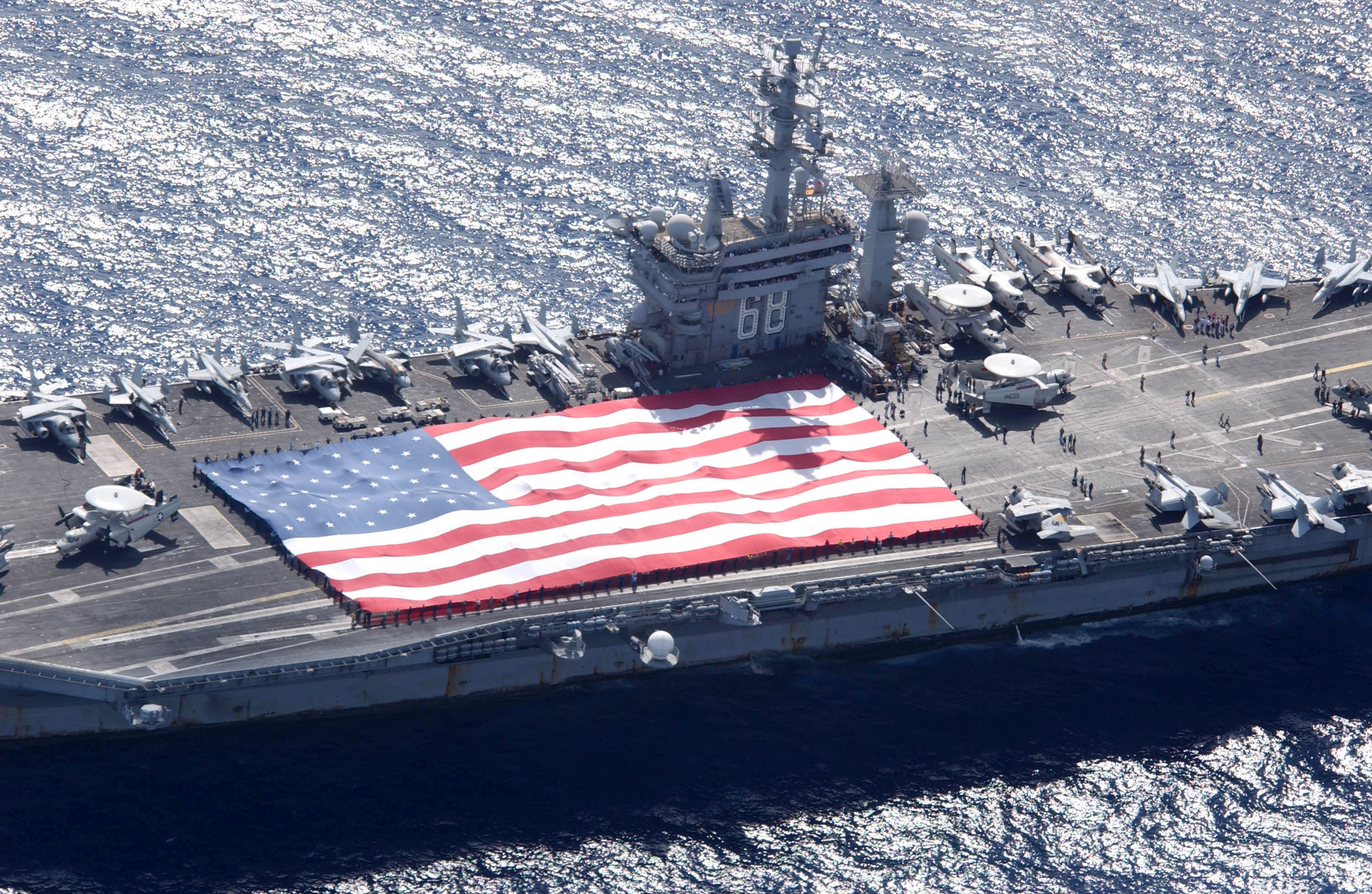 Uss Nimitz (cvn 68) And Carrier Air Wing Eleven (cvw.