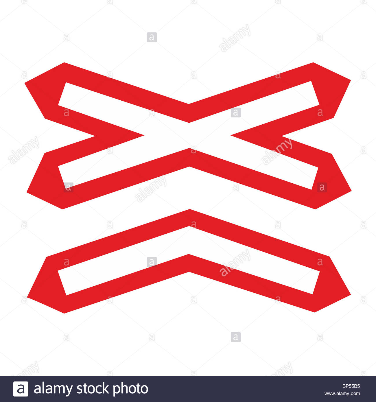 Ungated Level Crossing Sign Stock Photos & Ungated Level Crossing.