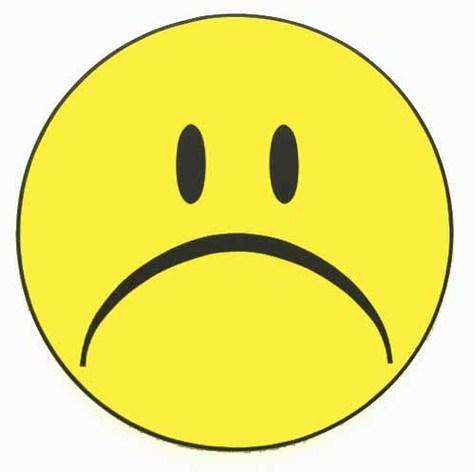 Unhappy Smiley.