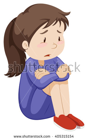 Sad Girl Stock Images, Royalty.