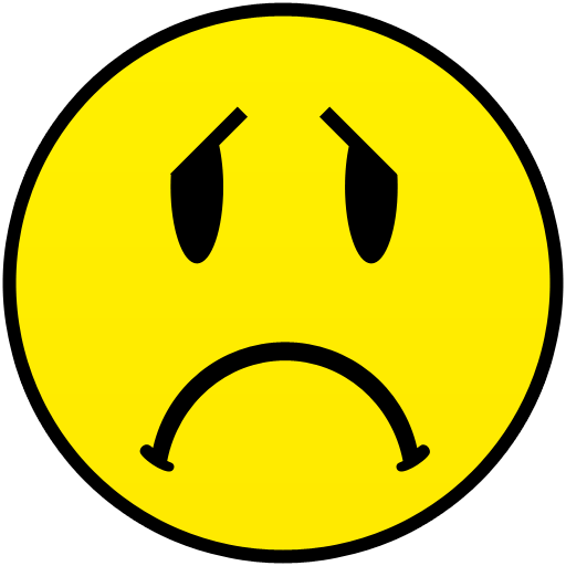 Frown Face Clipart