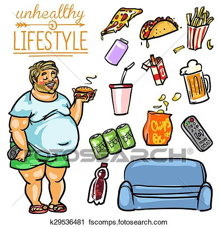 Collection of Unhealthy clipart.