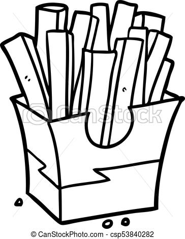 Junk foods clipart black and white 1 » Clipart Station.