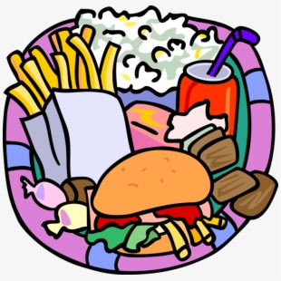 Junk Food Clipart Unhealthy Diet.