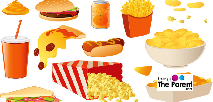 Top 10 Unhealthy Foods For Kids.