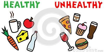 Unhealthy Children Clipart.