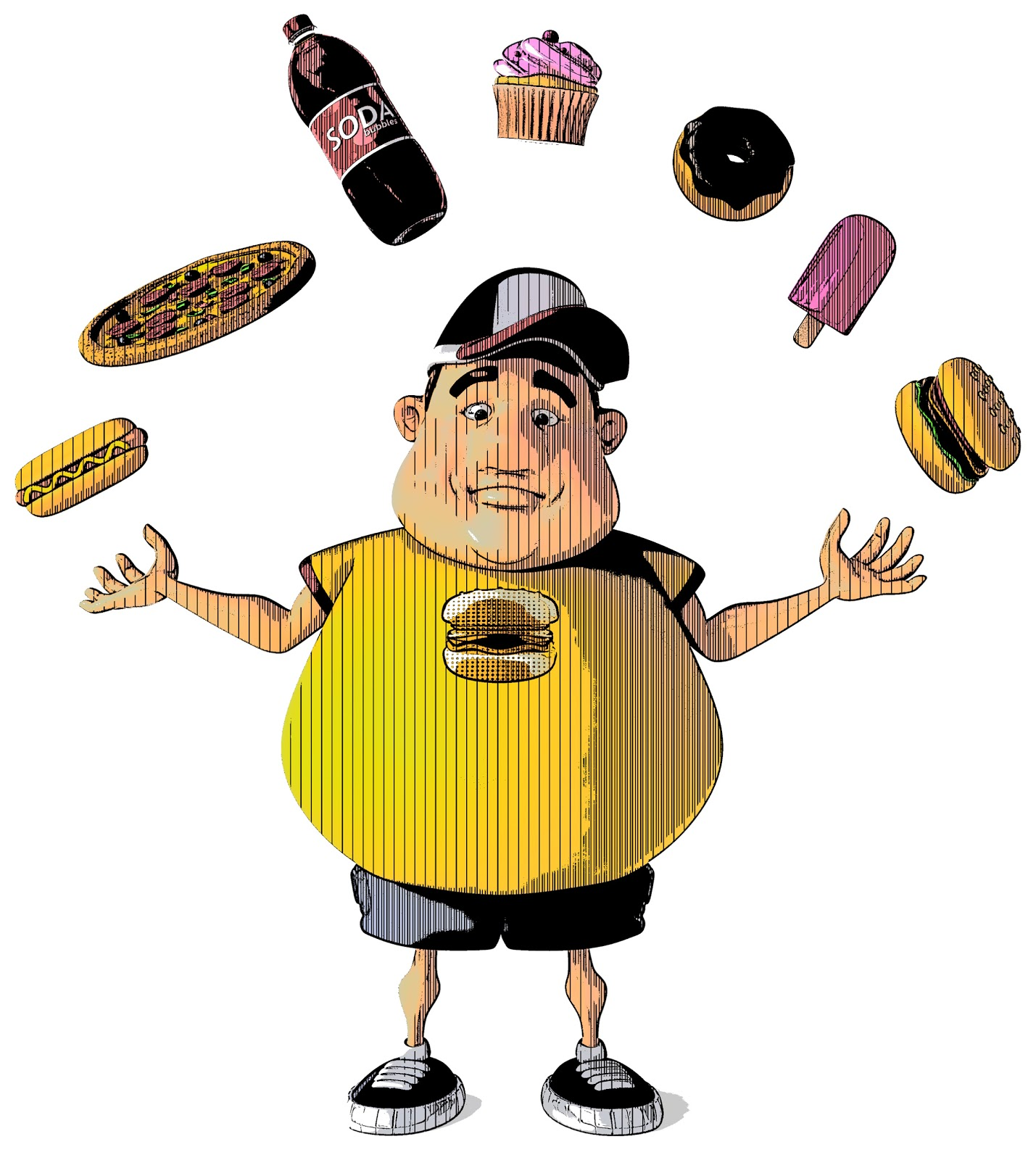Unhealthy Person Cartoon Image &, Pictures.