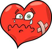 Unhealthy Heart Clipart.