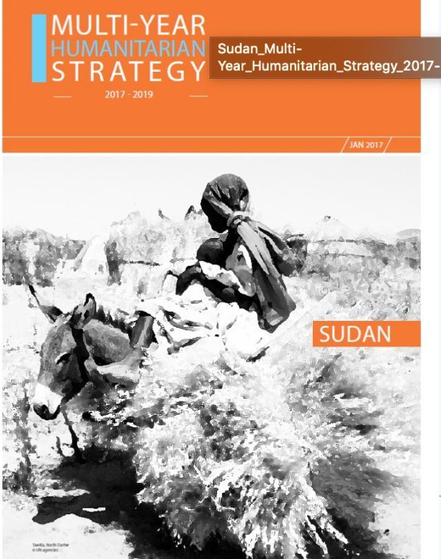 Sudan Multi Year Humanitarian Strategy 2017.