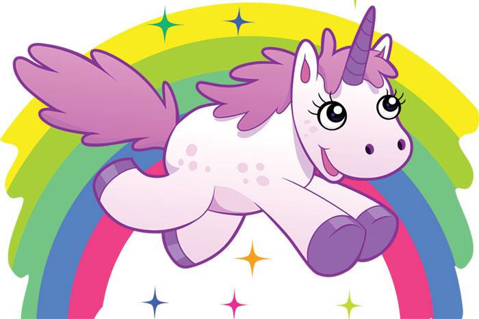 rainbow and unicorns unicorn and rainbow clipart clipartfest.