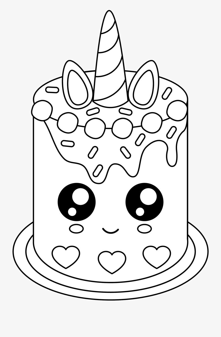 unicorn birthday coloring page clipart 10 free Cliparts ...