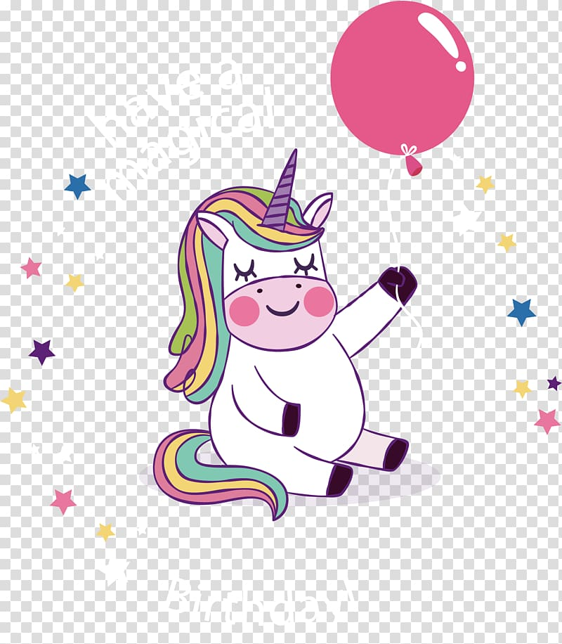 Have a magical birthday text, Birthday Party Unicorn YouTube.