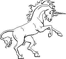 Free Black And White Unicorn Clipart, Download Free Clip Art.