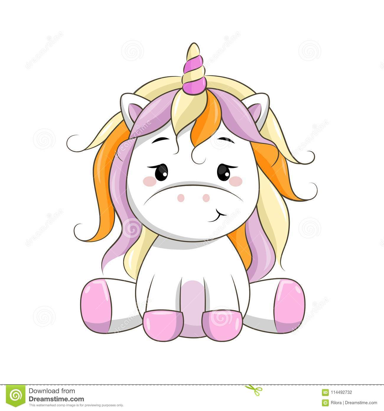 Cartoon unicorn clipart 2 » Clipart Station.