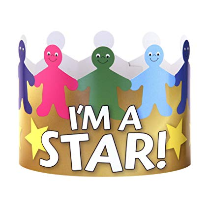 Hygloss Products I\'m A Star Paper Crowns.