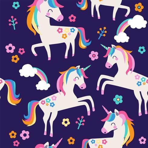 Unicorn pattern..