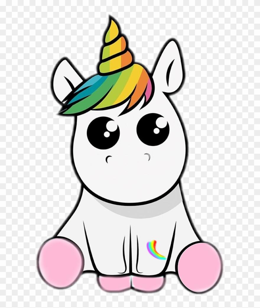 Image Royalty Free Baby Unicorn Clipart.