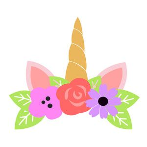 Unicorn Crown Clipart.