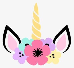 Transparent Unicorn Ears Clipart.